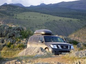 Алтай — Тува — Хакасия в августе на Nissan Pathfinder