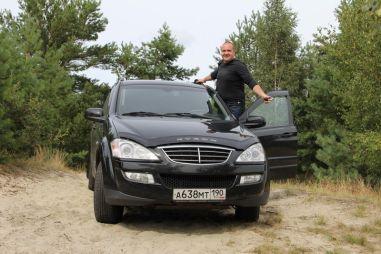 Прибалтийская прогулка на SsangYong Kyron II со свадебным happy-end-oм