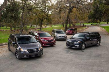 Большой тест минивэнов: Chrysler, Honda, Kia, Nissan и Toyota