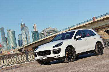 Тест-драйв Porsche Cayenne Turbo. Многогранный