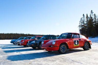 Ледовый тест исторических Porsche. Предыдущие реинкарнации 911-го