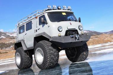 БайкалМоторШоу-2015: Валенки для УАЗа, или Особенности вездеходов-пневматиков