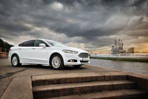 Тест-драйв Ford Mondeo. Русификация