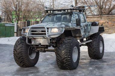 Тюнинг пикапа Ford Ranger. Болотный Рейнджер