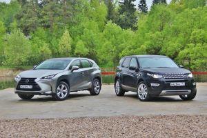 Сравнительный тест Lexus NX200t и Land Rover Discovery SportSD4