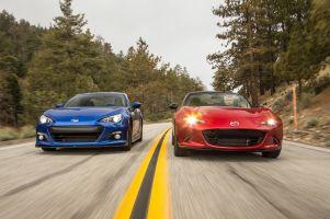 Сравнительный тест Mazda MX-5 и Subaru BRZ