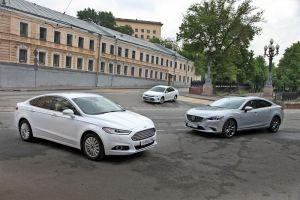 Сравнительный тест: Ford Mondeo vs Mazda6 vs Toyota Camry. Эффект новизны