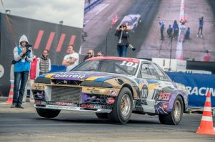 Тюнинг Nissan Skyline GT-R: 7,437 секунды на Santa Pod Raceway (рекорд Европы)