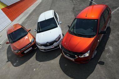 Сравнительный тест хэтчбеков Lada Kalina, Datsun mi-DO и Renault Sandero. Классовая рознь