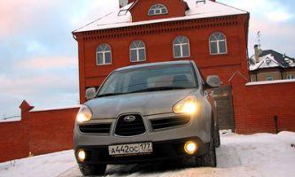 Тест-драйв автомобиля Subaru Tribeca, 2006