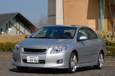 "Обзор Toyota Corolla Axio ""Sport M"" 1.8 Luxel от Modelista, 2007"