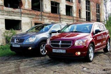 Братья по калибру: Nissan Qashqai и Dodge Caliber