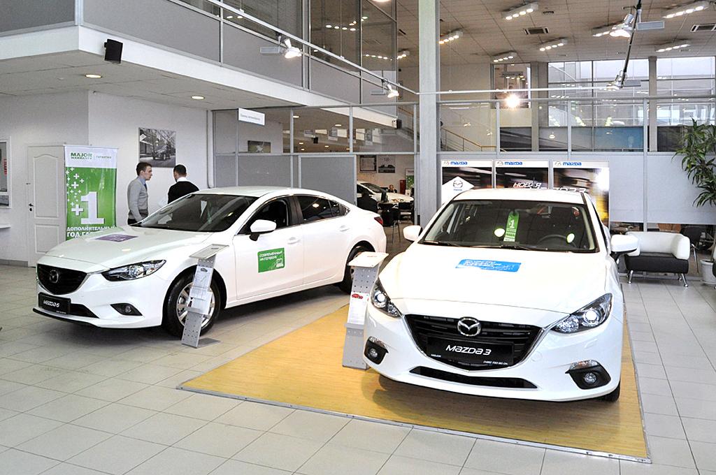 Mazda Major МКАД 18 км - официальный дилер Мазда