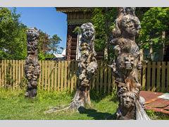 Скульптуры Панова в Большой Речке (Скульптура)