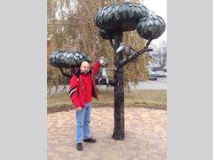 Памятник коту Василию из Воронежа  (Скульптура)