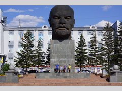 Памятник Голова Ленина