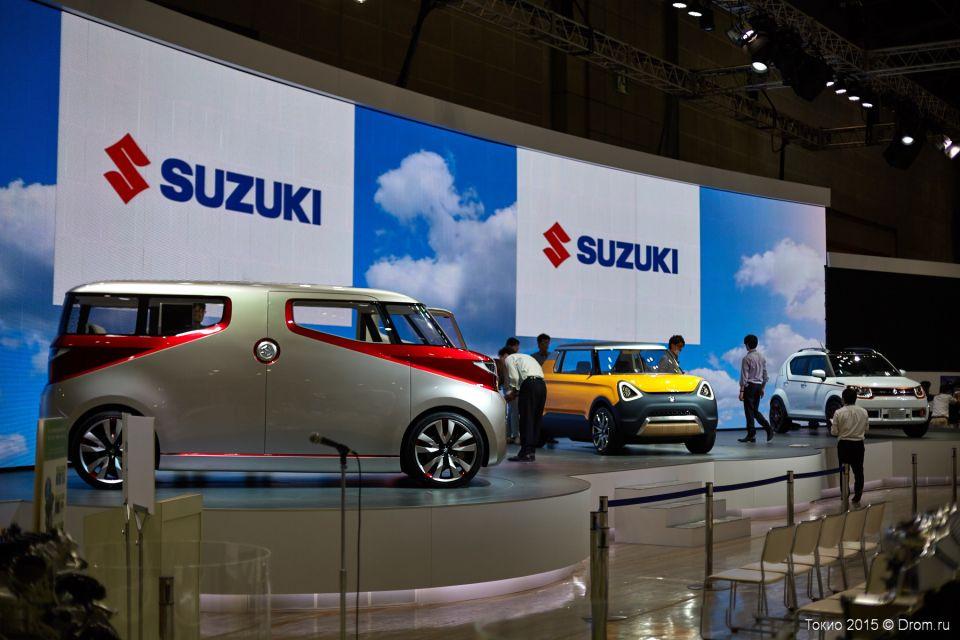 Концепты Suzuki.