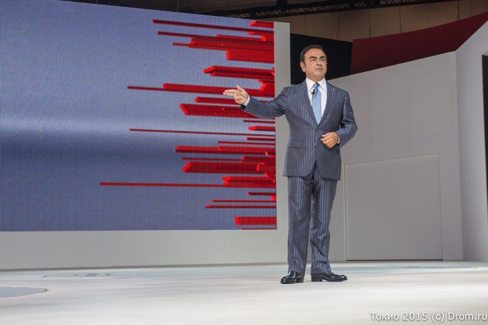 Карлос Гон, глава концерна Renault-Nissan
