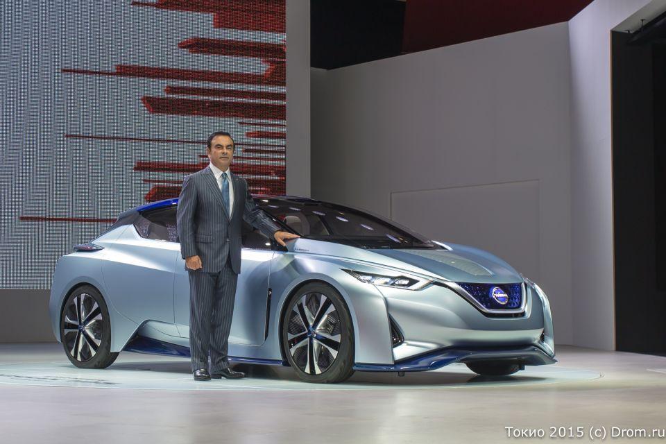 Карлос Гон и Nissan IDS Concept