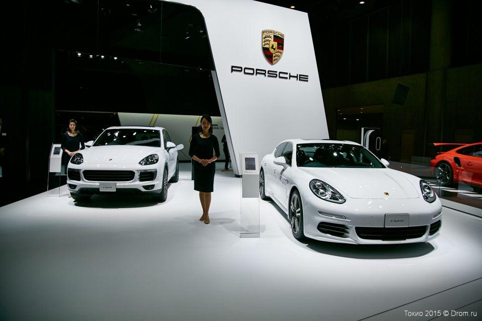 Porsche PanameraS e-hybrid Cayenne S e-hybrid