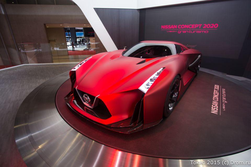 Nissan Concept 2020. Огонь!