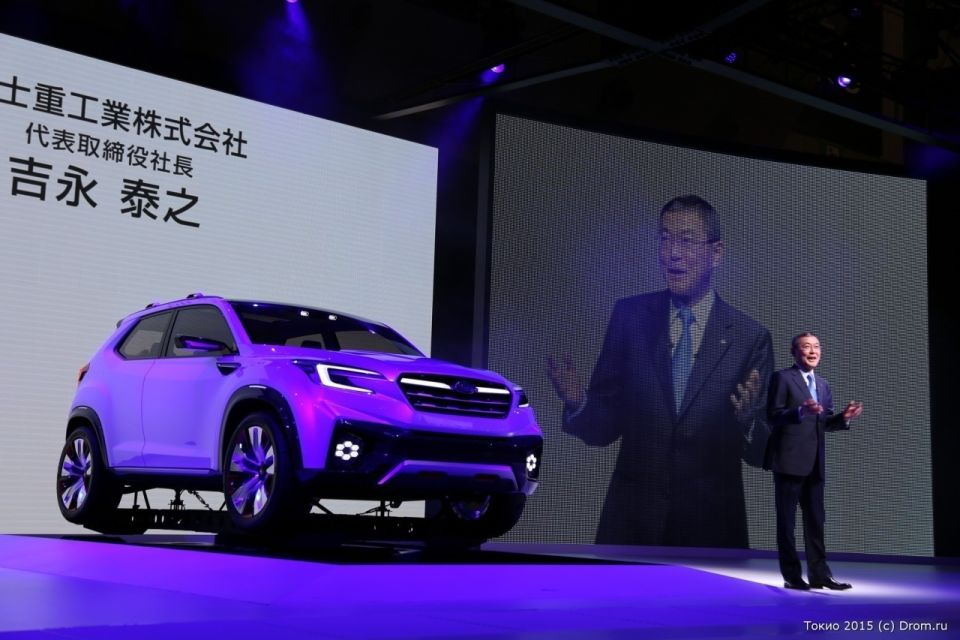 Презентация «новинок» Subaru