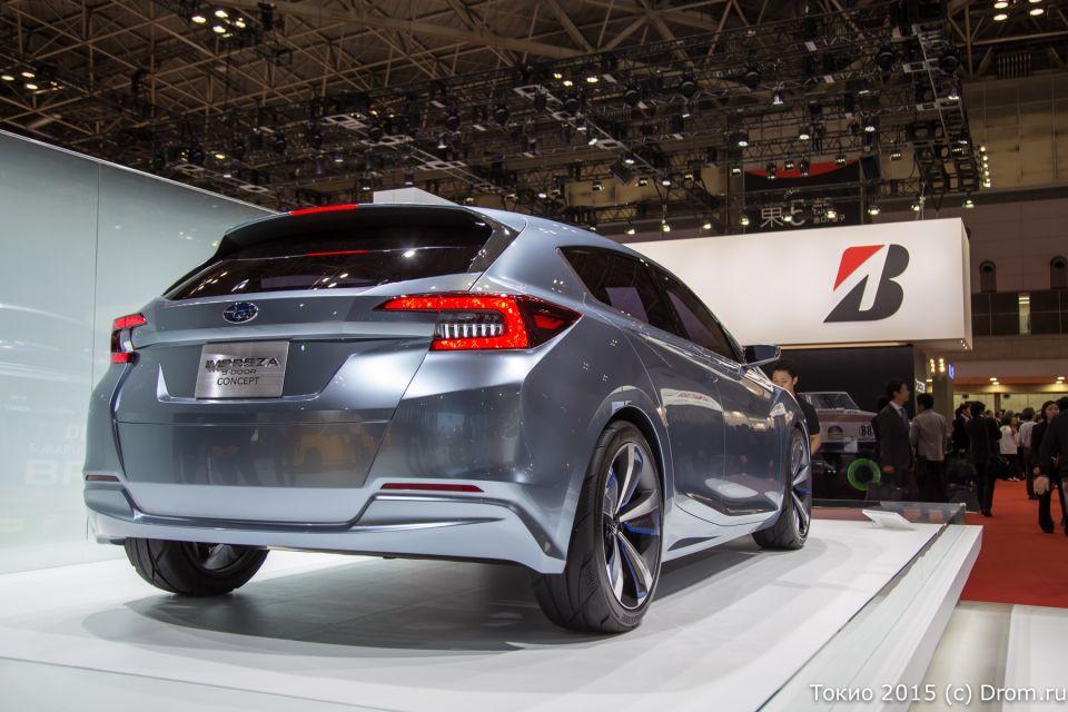 Концептуальный прототип Subaru Impreza