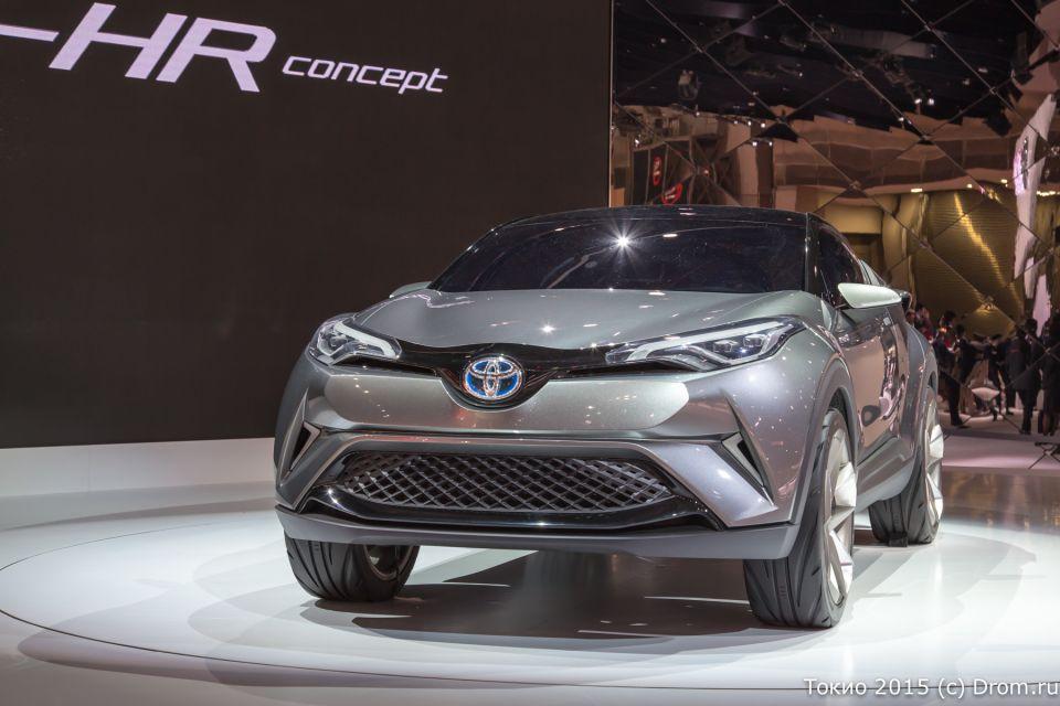 Концепт Toyota CH-R