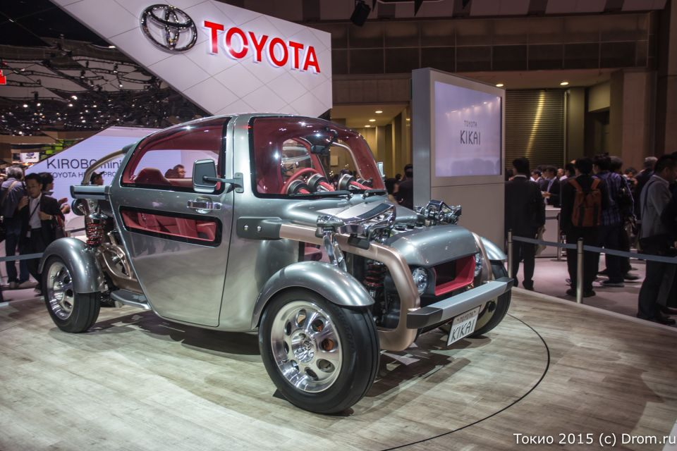Концепт-кар Toyota Kikai