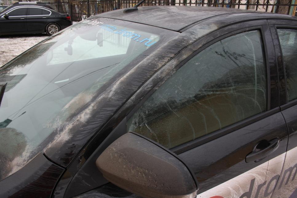 Что сделать чтобы пыль не садилась на машину