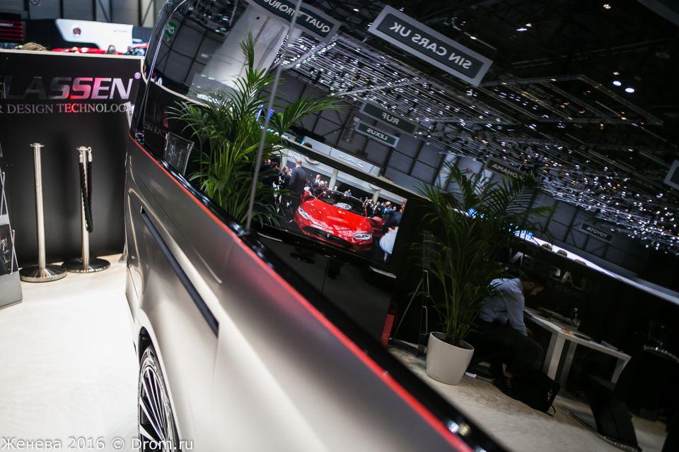 Mercedes-Benz V-Class Black Crystal