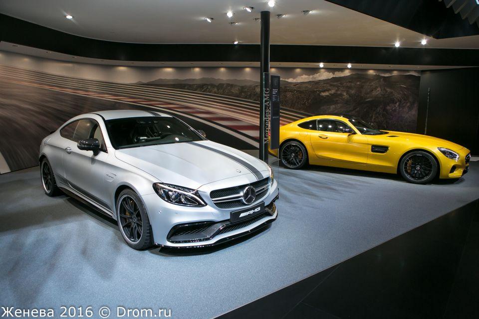 Mercedes-AMG C63s, Mercedes-AMG GT