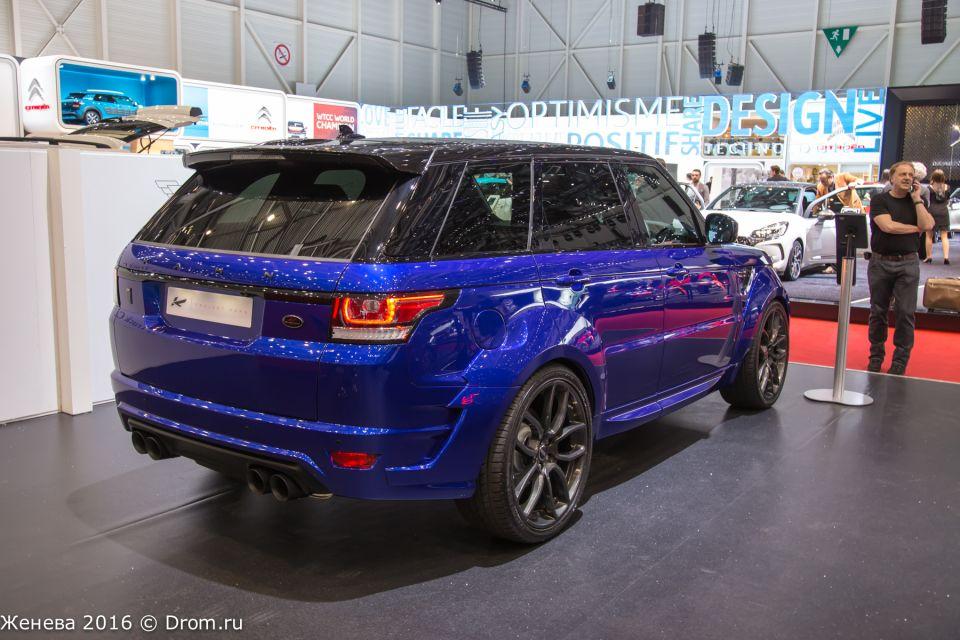 Range Rover от Kahn Design
