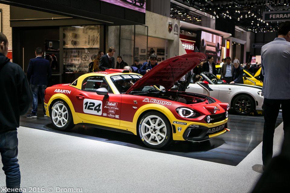 Fiat  Abarth 124 Rally