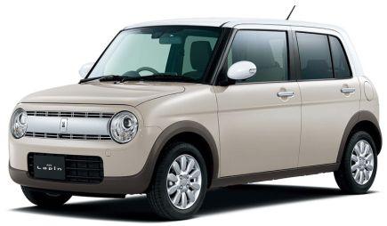 Suzuki представила новое поколение Alto Lapin — автомобиля дляженщин