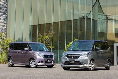 Компания Suzuki выпустила третье поколение микровэна Solio и Bandit в Японии