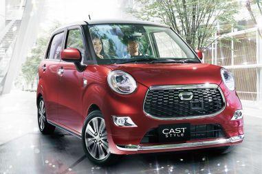Daihatsu представила новое семейство миникаров Cast