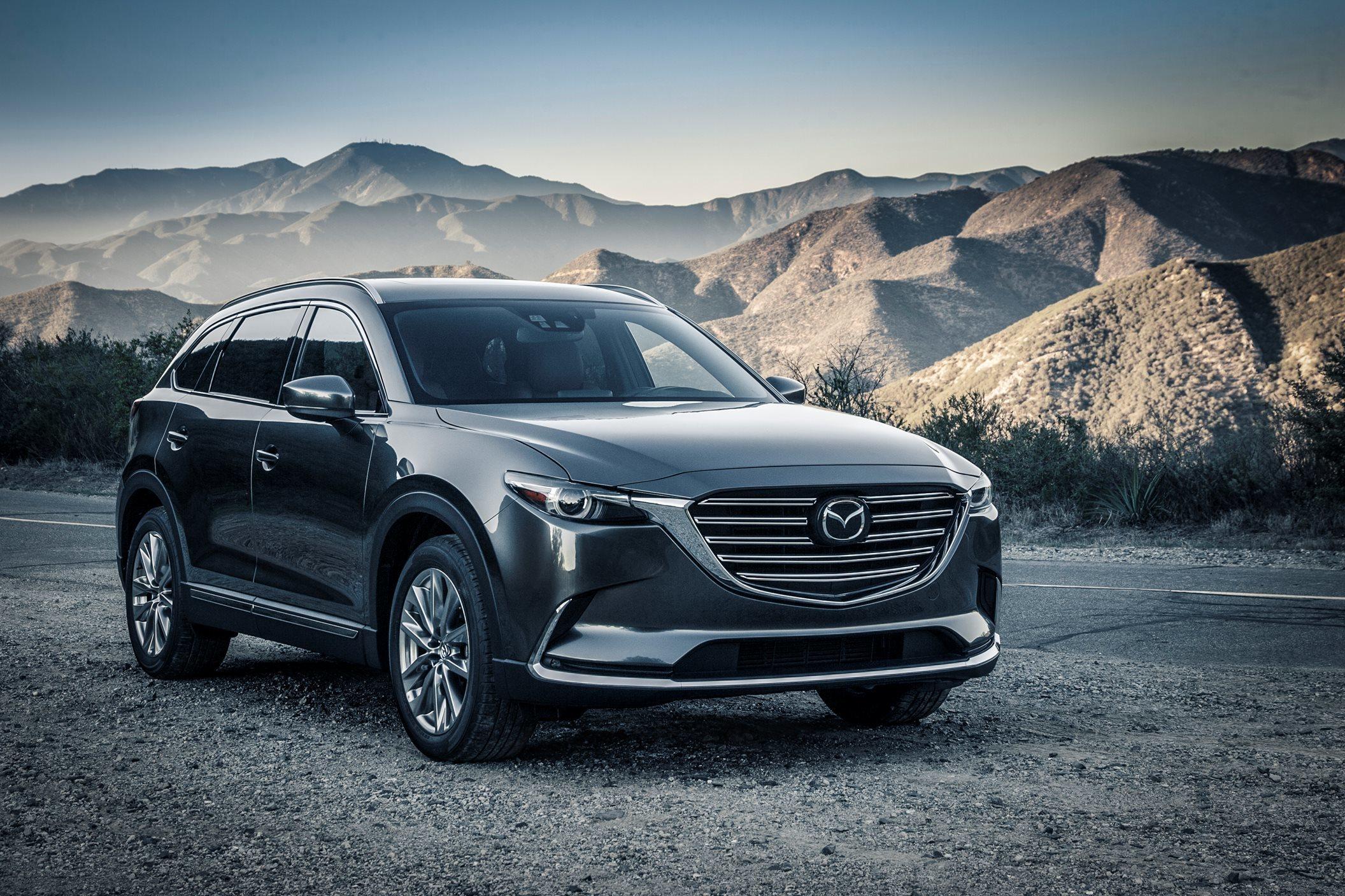 Mazda CX-9: автомобиль для ценителей повышенного комфорта
