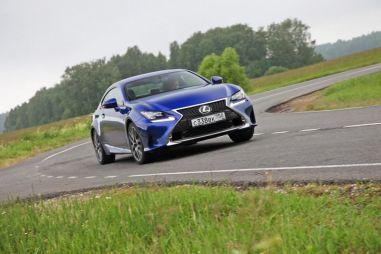 Тест-драйв Lexus RC 350. Стержень