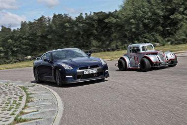 Дуэль-тест Nissan GT-R против Legends Series. Ктокого?