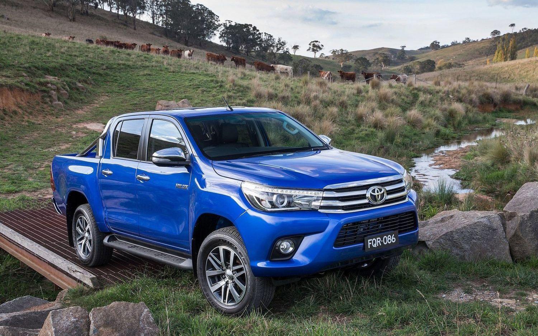 Offizielle Sicherheitsbewertung Toyota Hilux 2016