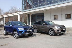 VW Touareg V6 3.0 TDI против Range Rover Sport 3.0 SDV6. Духовная близость