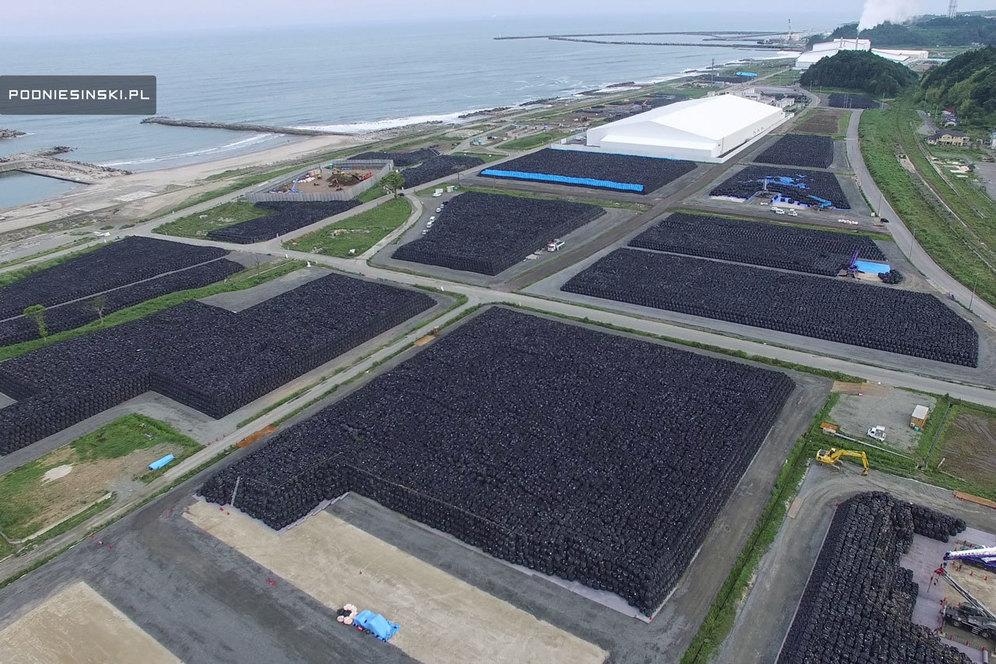 Миллионы мешков. Вид с воздуха