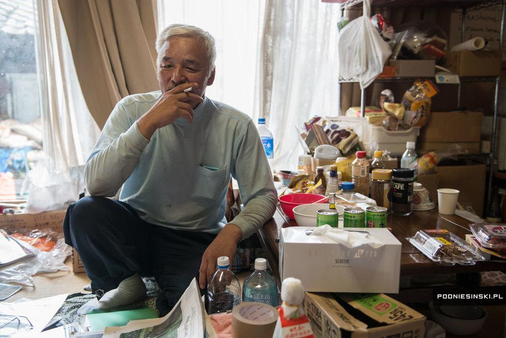 Наото Мацумура в собственном доме