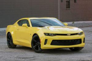 Первый тест-драйв нового поколения Chevrolet Camaro