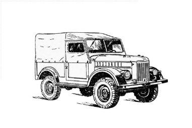 ГАЗ-69. Ветераны нестареют!