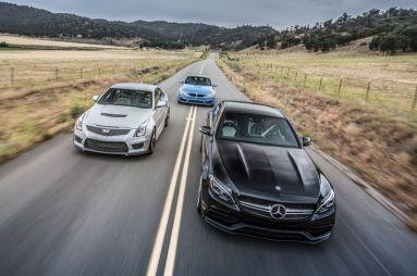 Сравнительный тест BMW M3, Cadillac ATS-V и Mercedes-AMG C63 S