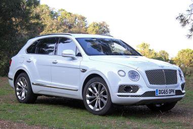 Первый тест-драйв Bentley Bentayga