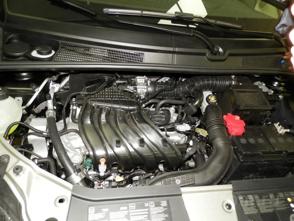 Под капотом — двигатель Nissan, сборка которого осуществляется на «АвтоВАЗе»