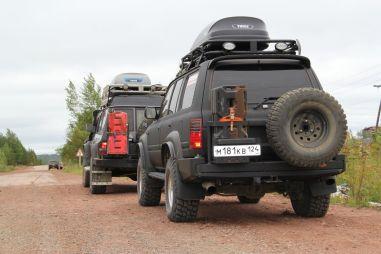 Байкал-2014 наSafariY60 иTLC80